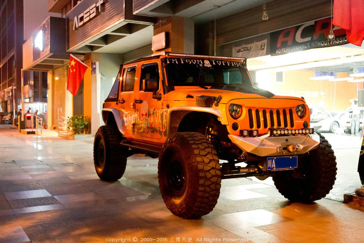 高脚怪兽 改装jeep牧马人